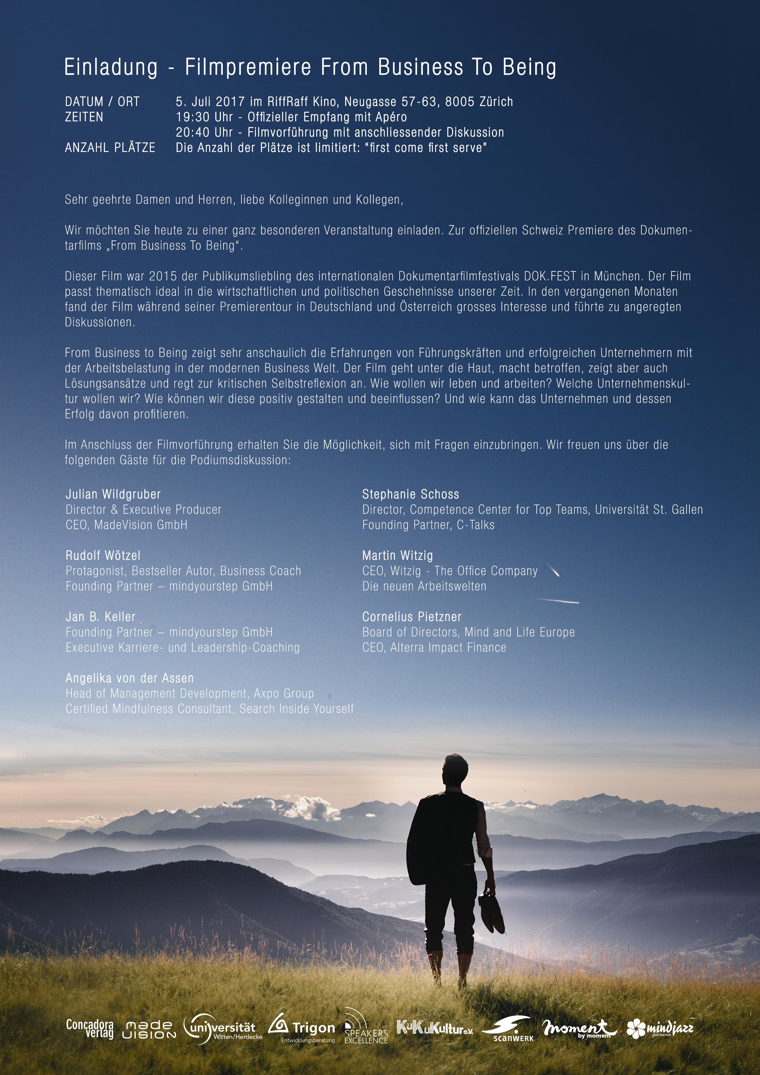 Einladung_Zurich film
